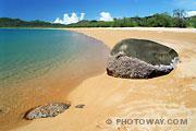 Fond d'écran Australie plage Magnetic Island Rocks