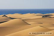 Fond d'écran Dunes aux Canaries