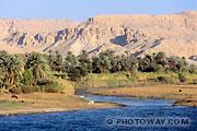 Fond d'écran vallée du Nil Egypte