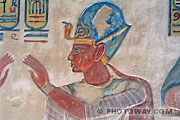 Fond d'écran Pharaon Ramses III - Vallée des Rois - Egypte