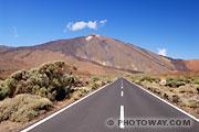 Fond d'écran du Volcan Teïde à Ténérife aux Canaries