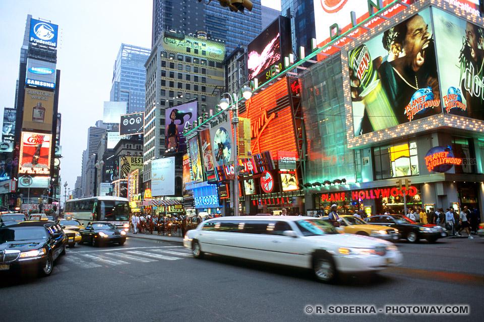 Toursime à Times Square