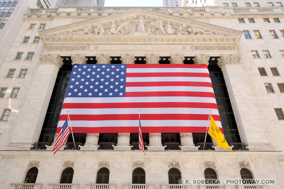 Wall Street la bourse de New York