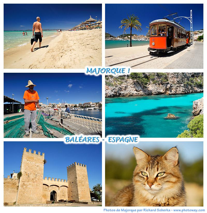 Carte postale de Majorque - Baléares