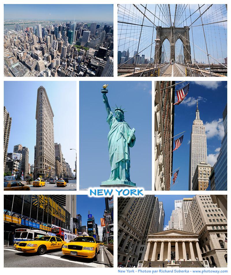 Carte postale de New York photos pour cartes postales New York voyage aux Etats Unis