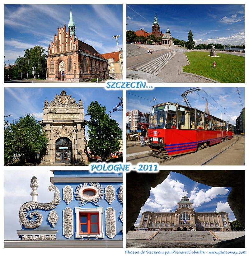 Carte postale de Pologne - Szczecin