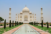 Photo du Taj Mahal en Inde