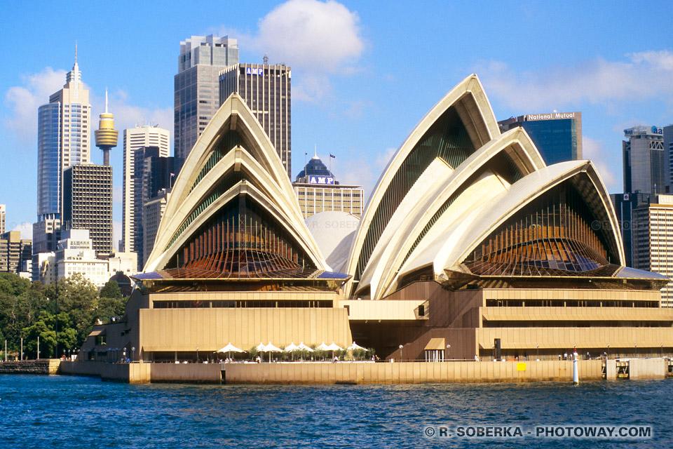 centre ville de Sydney et Opera