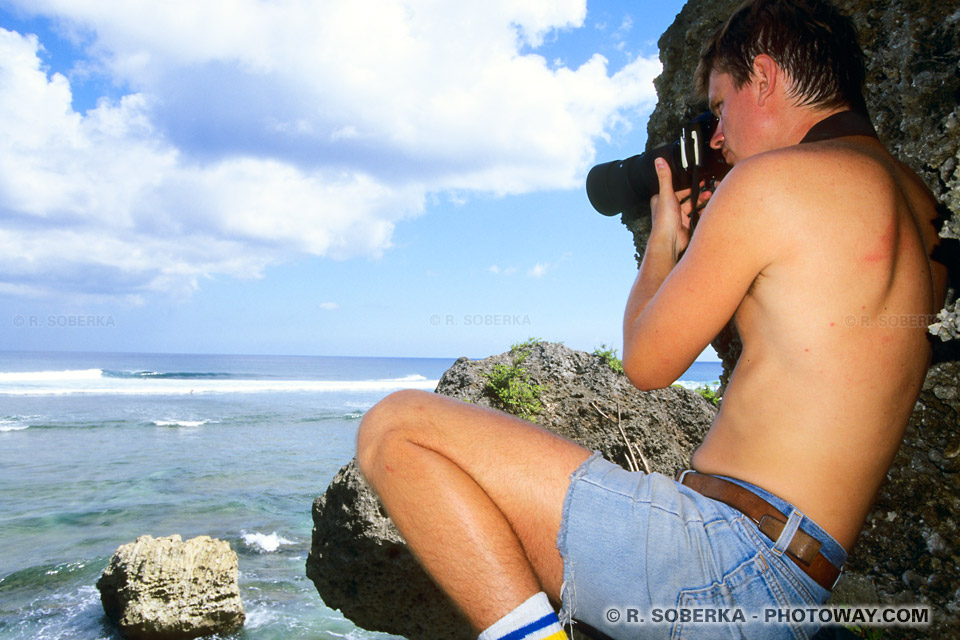 Richard Soberka - Reportage photo surf à Bali