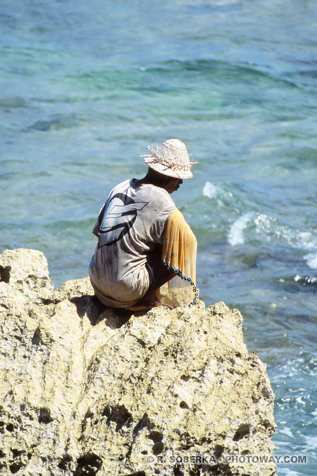 pêcheur indonésien balinais
