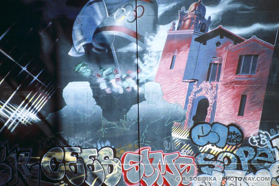 Photos de tags à Los Angeles : Photo d'un tag sur un mur