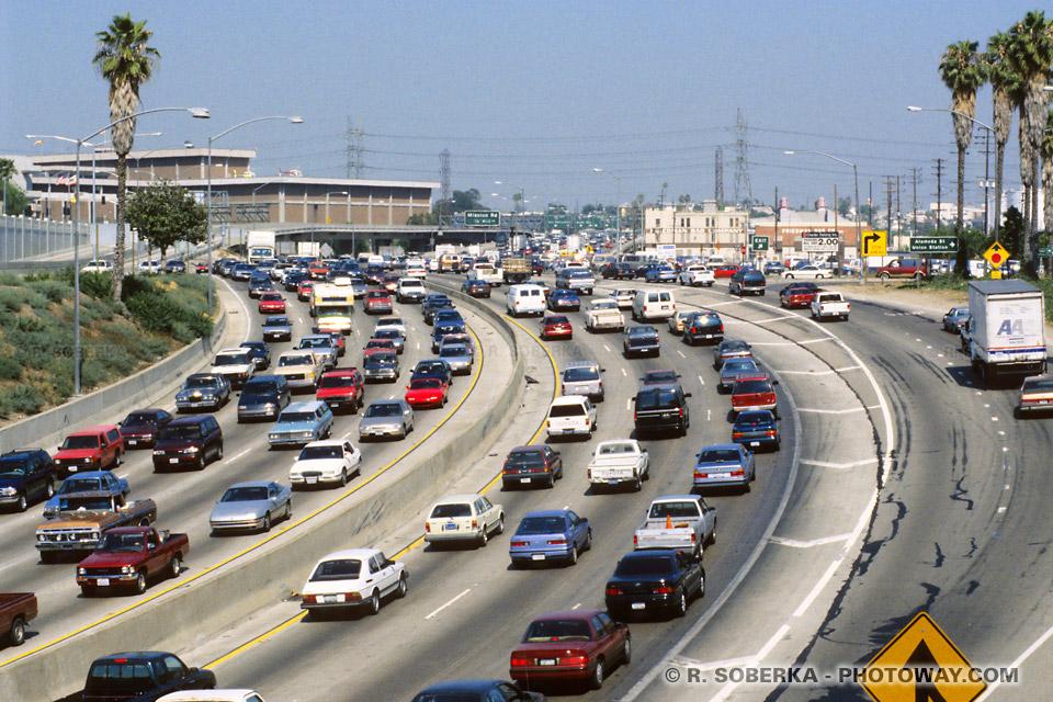 Los Angeles, une agglomération tentaculaire.