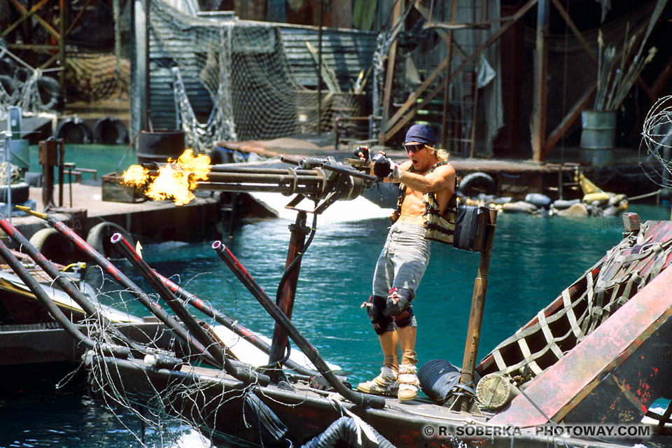 Photos des méchants Smokers - Images du film WaterWorld à Hollywood