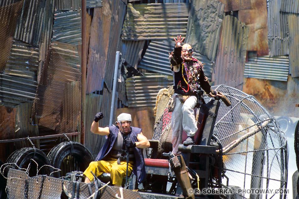 Photo de mise en scène : Comme dans un bon film d'action à Hollywood !