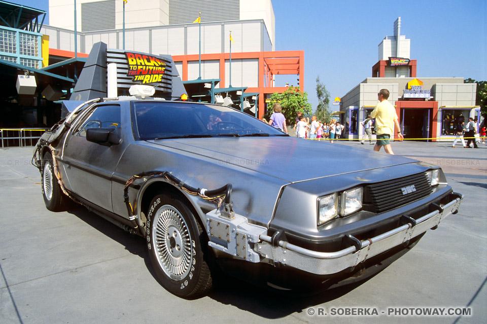 Photos de Deloreane : Photo de la voiture du film Retour Vers le Futur