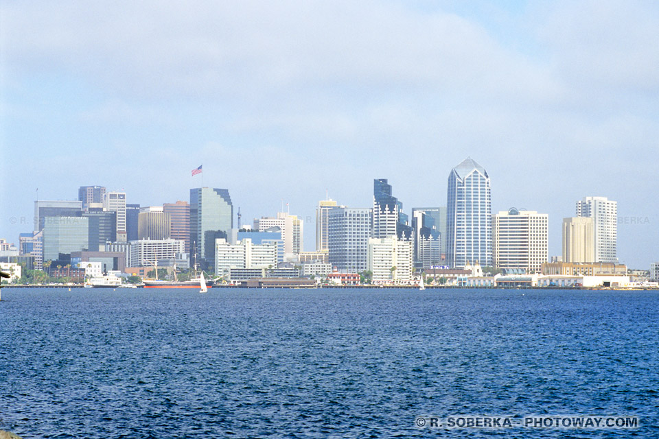 Photos de San Diego : Photo de la ville de San Diego en Californie