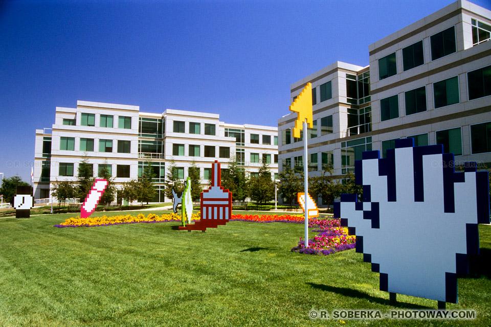 Photos des bureaux d'Apple : Photo du siège d'Apple à Cupertino en Californie