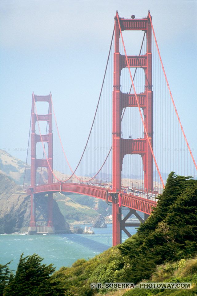 Photos du pont de San Francisco : photo du Golden Gate Bridge