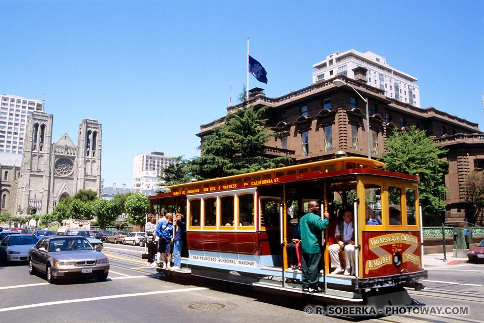 Photos du Cable Car - Photo du Cable Car de San Francisco en Californie