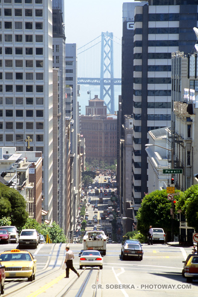 Photos des rues de San Francisco : Photo de California Street
