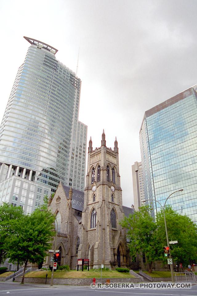 images Photos d'immeubles et photo d'églises guide touristique à Montréal