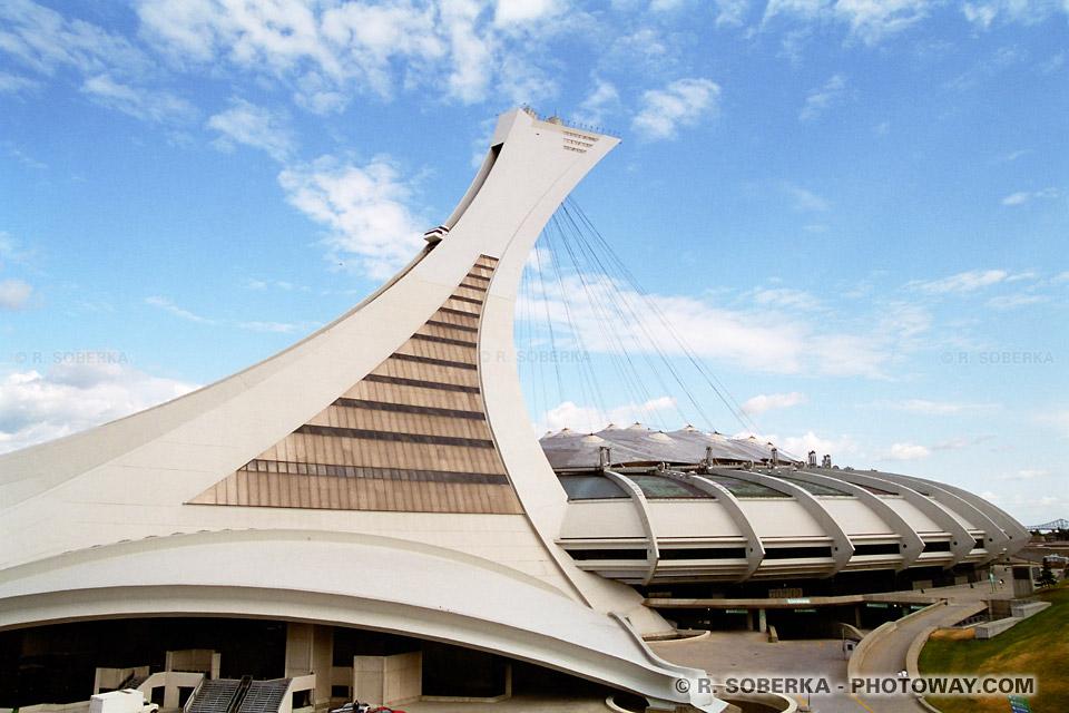 Photo du stade des Jeux Olympiques de 1976 à Montréal photos du Canada