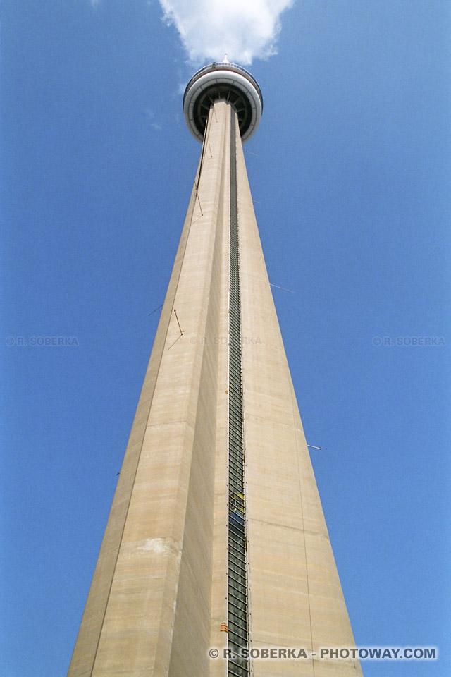 Photos de la CN Tower - Photo CN Tower à Toronto au Canada images