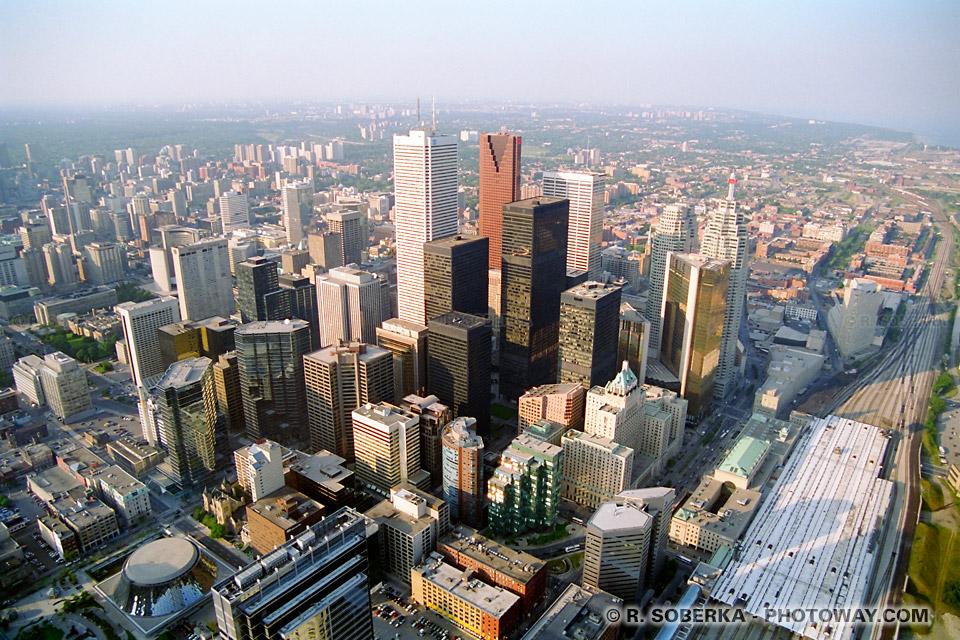 Photos de Toronto : photo de ville de Toronto au canada images des grattes ciel