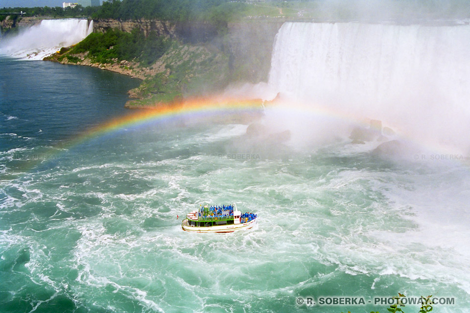 Photos des Chutes du Niagara photo au Canada