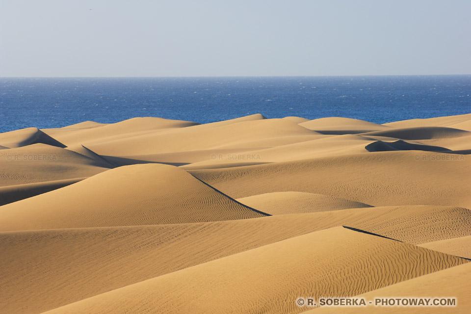 Fond d'écran dunes aux Canaries wallpaper de dunes