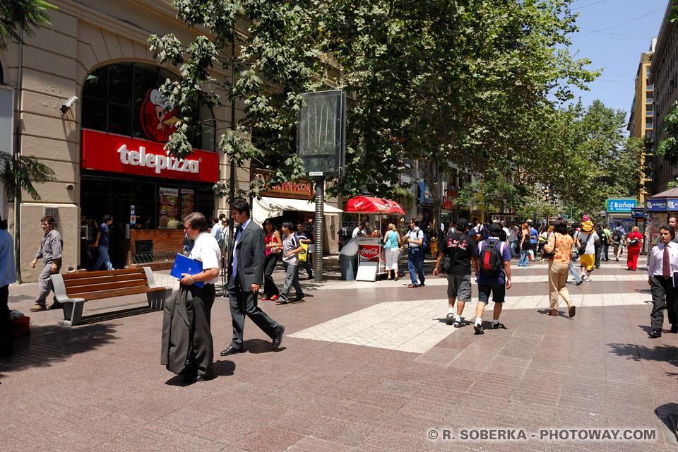 Informations pratiques sur la ville de Santiago au Chili