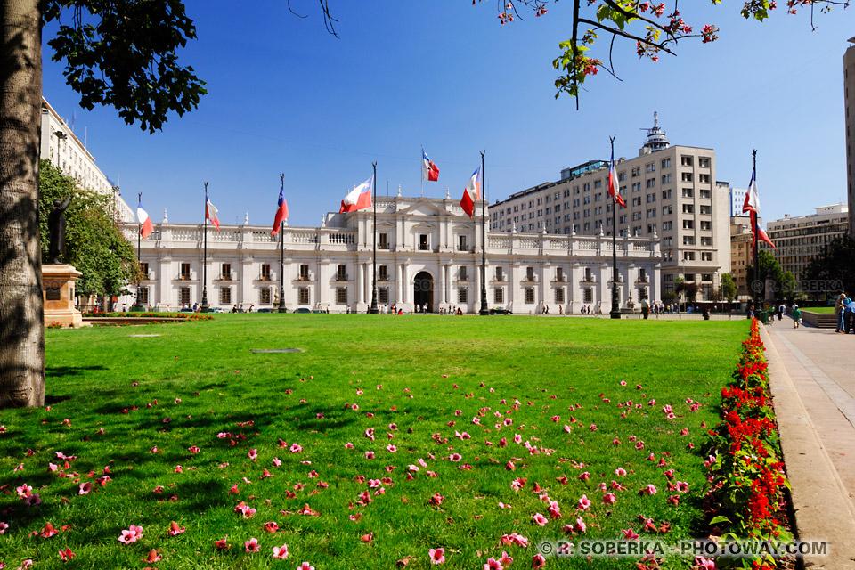 Photo de la Moneda - Guide touristique sur Santiago Chili et informations pratiques