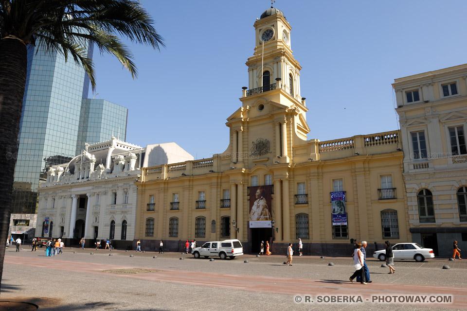 Visite des musées à Santiago : Photo du musée de l'histoire du Chili
