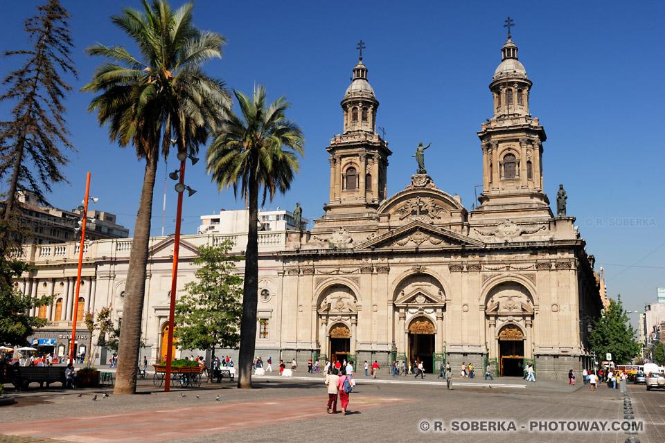 Photos de Plaza de Armas à Santiago image de la capitale du Chili