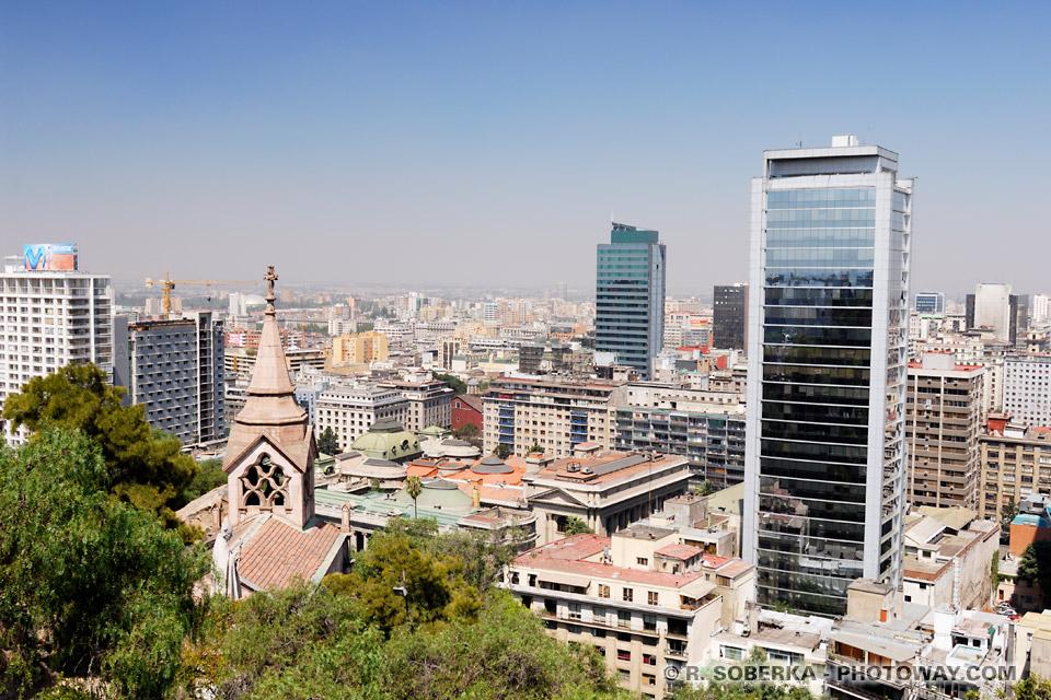 Photo de la ville de Santiago capitale du Chili - images de Santiago
