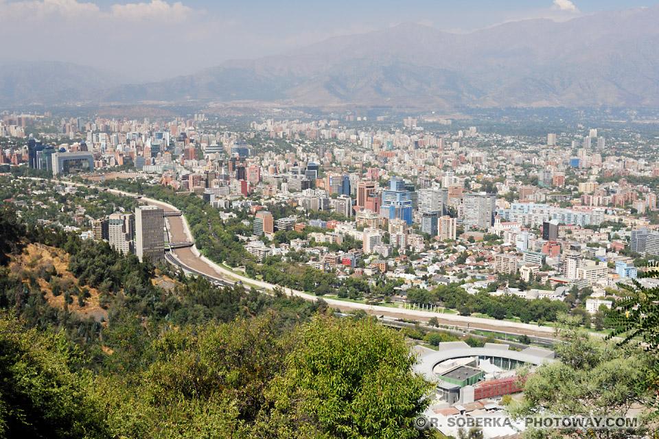 Photos de Santiago du Chili : images de Santiago la capitale du Chili