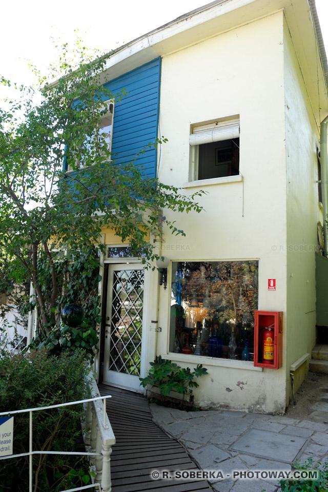 Photo de la maison de Pablo Neruda photos de La Chascona à Santiago Chili
