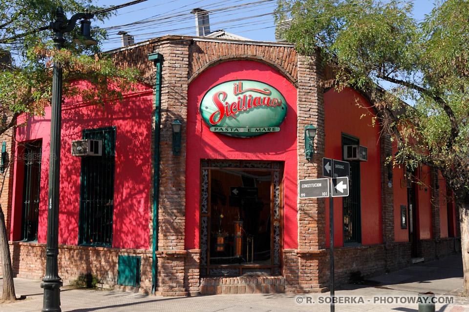 Photos de Bellavista à Santiago photo du quartier bobo de Santiago