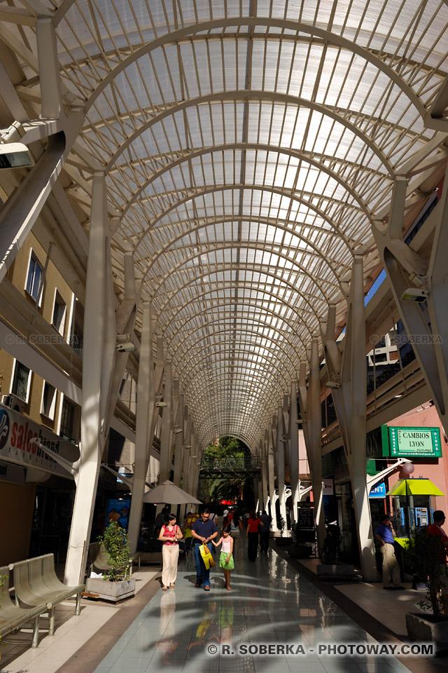 Shopping à Santiago du Chili Photos de galeries marchandes