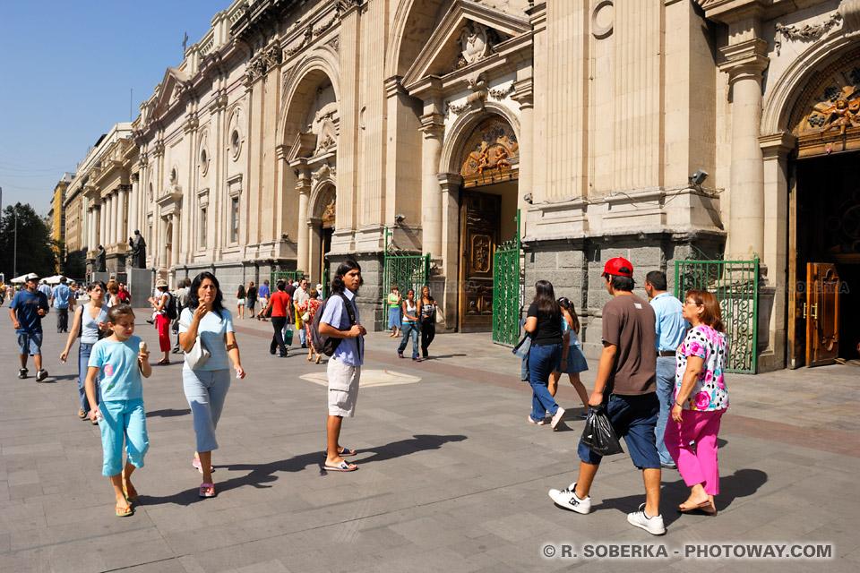 Photo de Chiliens - image des habitants de Santiago, Photos population du Chili