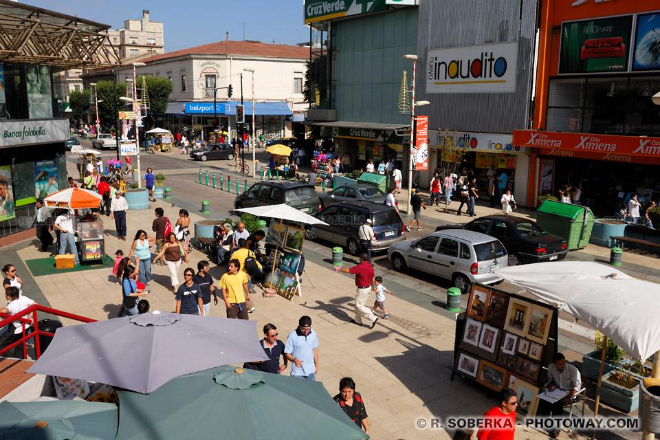 centre ville de Vina del Mar