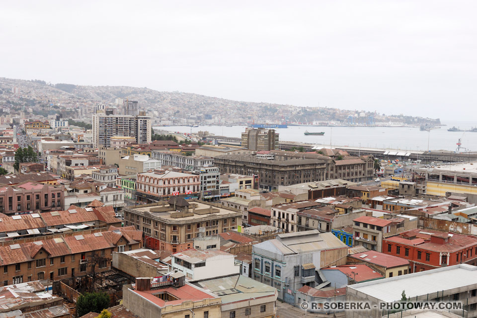 Valparaíso photos de la ville de Valparaiso photo au Chili