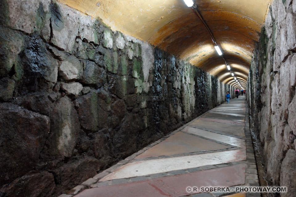 tunnel de l'ascensor Polanco à Valparaíso