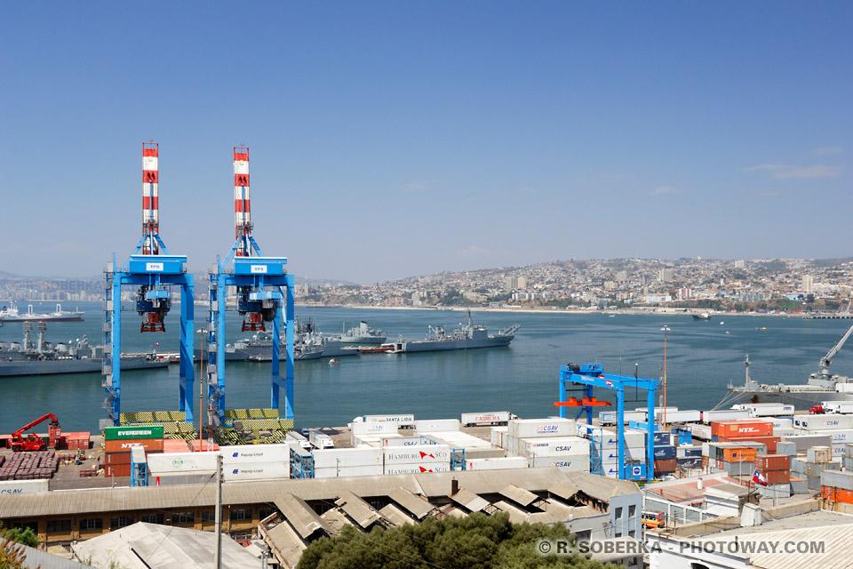 port de Valparaíso photos de la ville de Valparaiso au Chili