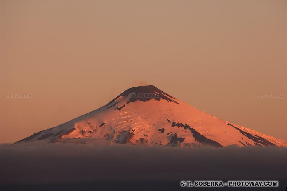 Image Fond d'écran Chili photo wallpaper Volcan Villarica