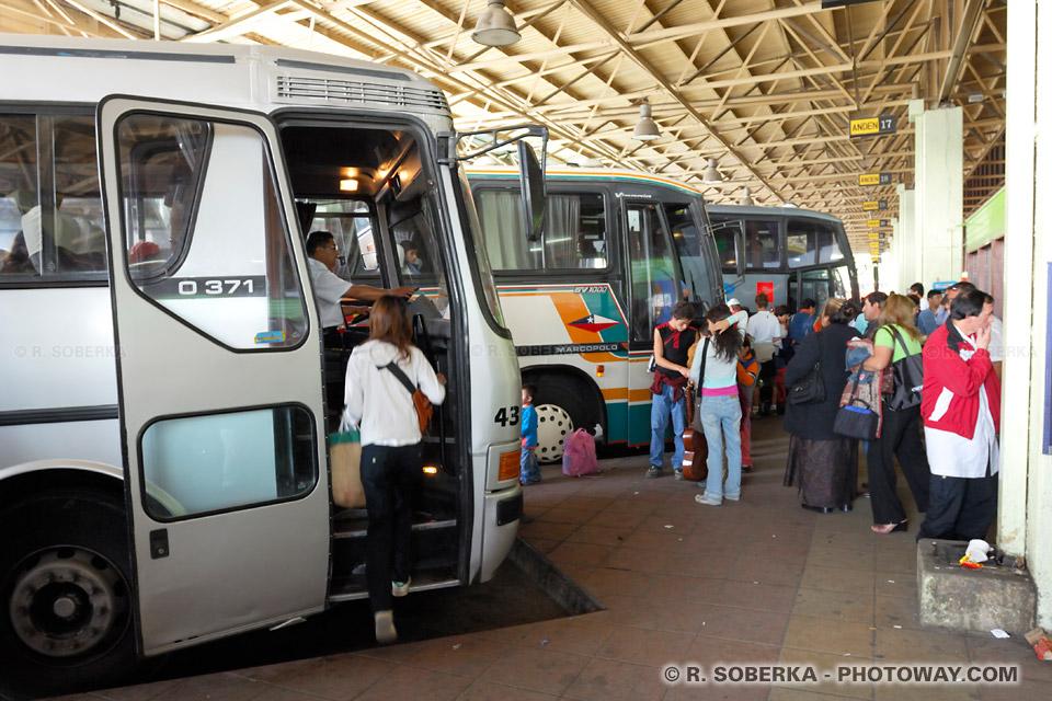 Transports au Chilli informations voyager Chili
