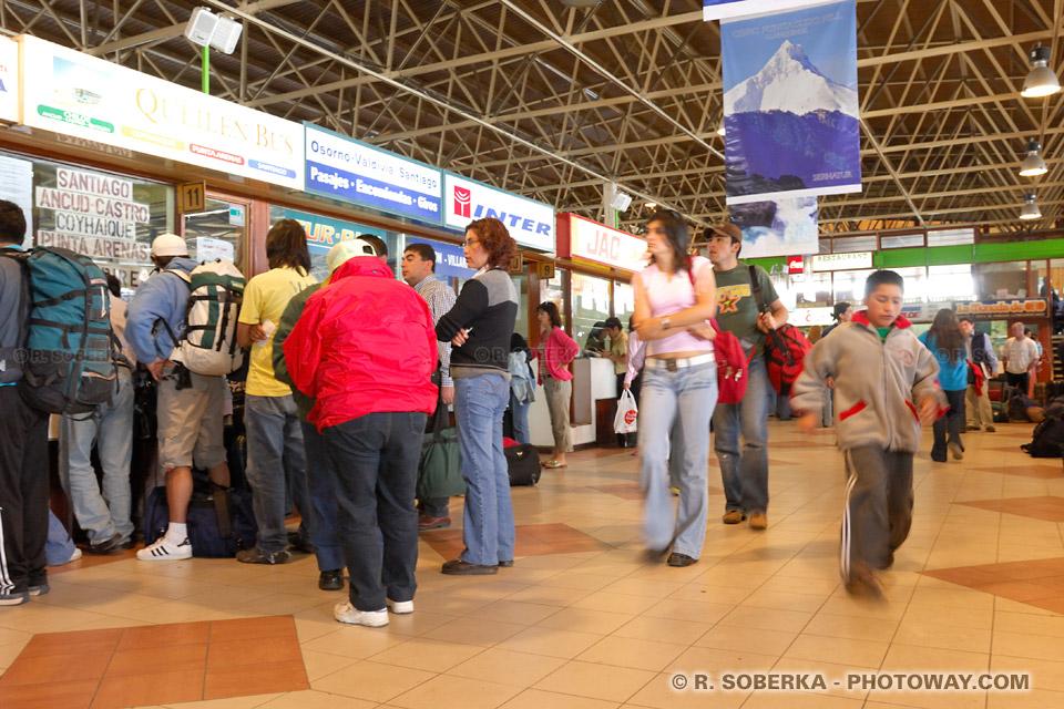 Voyage en autobus au Chili transports au Chilli en bus gares routières