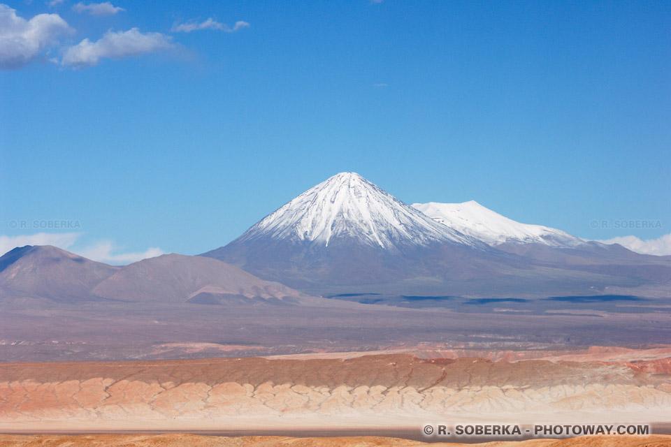 Image du volcan Licancabur photos volcan Licancabur au Chili