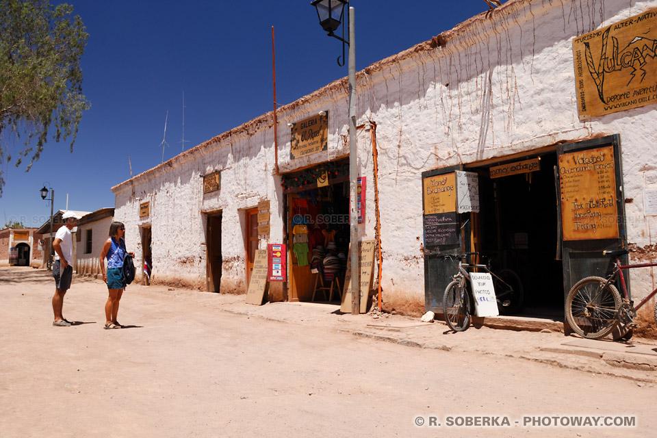 Images : Informations sur les Locations de voitures et vélos à San Pedro d'Atacama au Chili