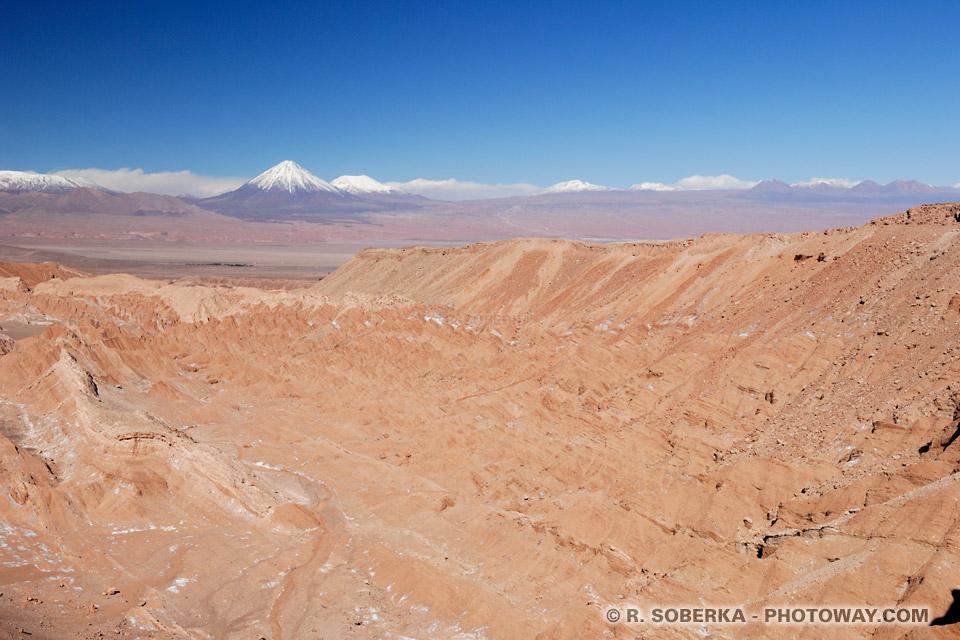Vallée de la Mort à San Pedro de Atacama au Chili